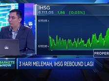 3 Hari Memerah, IHSG Akhirnya Rebound Kembali