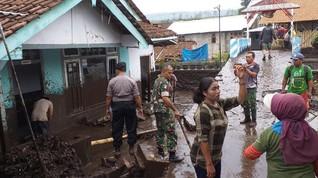 Banjir Bandang Bondowoso, 200 Rumah Terendam Lumpur