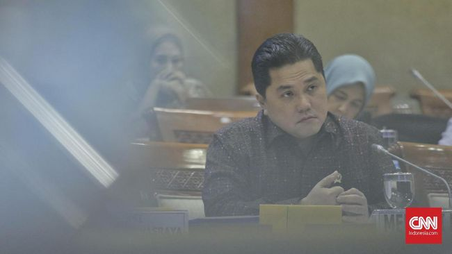 Erick Thohir Angkat Perwira Tinggi Polisi untuk Benahi BUMN