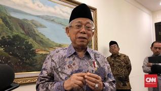 Wapres Bahas Virus Corona sampai Terorisme dengan Singapura