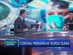 Khawatir Corona Picu Perlambatan, Bursa Dunia 'Memerah'