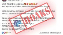 Polri Klaim Ungkap 51 Hoaks Terkait Virus Corona