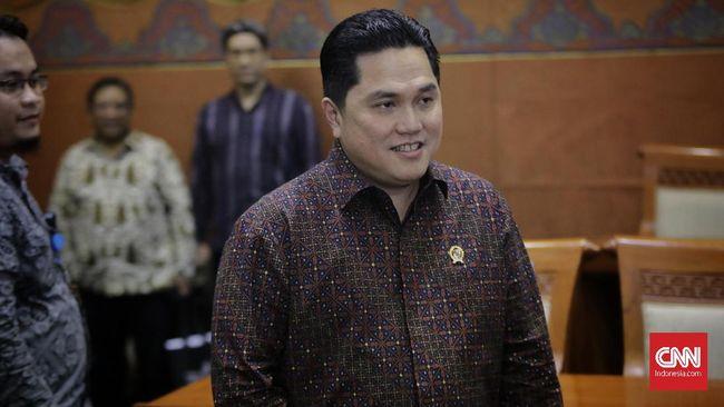 Erick Thohir Bidik Holding BUMN Rumah Sakit Raup Rp10 T