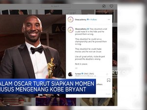 Oscar Awards Siapkan Momen Khusus Mengenang Kobe Bryant
