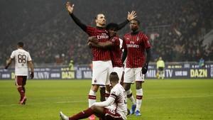 FOTO: Penghormatan untuk Kobe dalam Kemenangan AC Milan