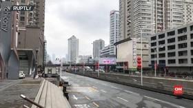 VIDEO: Kota Wuhan Bagaikan Kota Hantu