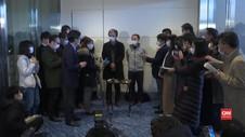 VIDEO: 206 Warga Jepang dari Wuhan Tiba di Tokyo