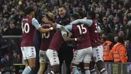 Hasil Piala Liga Inggris: Aston Villa ke Final