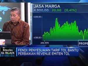 Analis: Tarif Tol Naik di 2020, Revenue Jasa Marga Meningkat