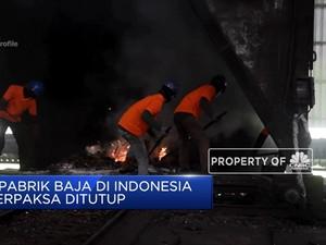 Baja Impor Paksa 7 Pabrik Baja Di Indonesia Ditutup