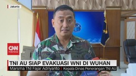 VIDEO: TNI AU Siap Evakuasi WNI di Wuhan