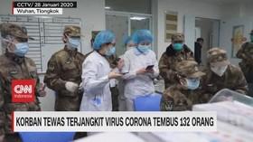 VIDEO: Korban Tewas Terjangkit Virus Corona Tembus 132 Orang