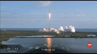 VIDEO: Paket Keempat Satelit Internet SpaceX Diluncurkan