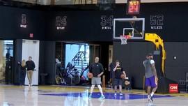 VIDEO: Latihan Pertama Tim LA Lakers Pasca Kobe Bryant Tewas