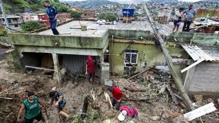 FOTO: Kondisi Brasil Usai Dihantam Banjir Bandang