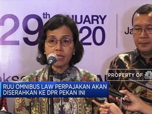 RUU Omnibus Law Perpajakan Akan Diserahkan ke DPR Pekan Ini