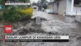 VIDEO: Banjir Lumpur Terjang Kawasan Gunung Ijen