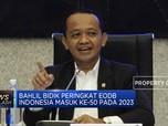 Bahlil Bidik Peringkat EODB Indonesia Masuk Ke-50 Pada 2023