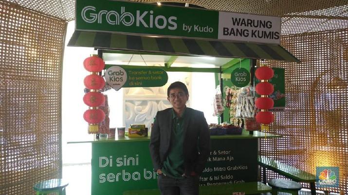 GrabKios menargetkan ada tambahan 1 juta mitra warung di seluruh Indonesia hingga akhir 2021.