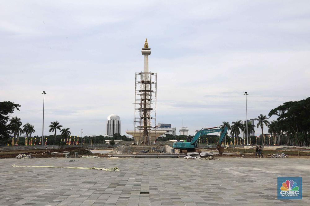 Pekerjaan proyek revitalisasi sudah dikerjakan mencapai 88-90 persen. Pengerjaan ditargetkan selesai pada 15 Februari 2020 sesuai dengan kontrak perpanjangan.