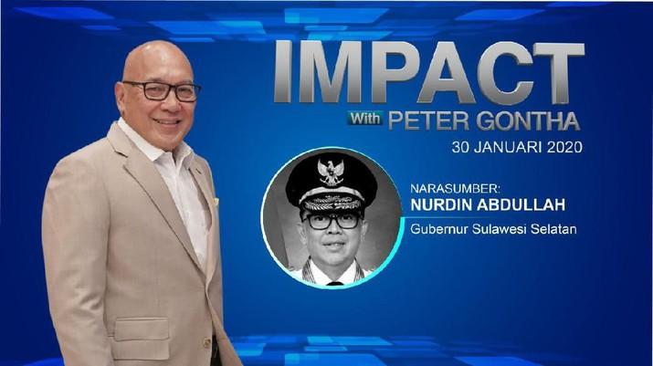 Live! Gubernur Nurdin Abdullah Blak-Blakan di Impact