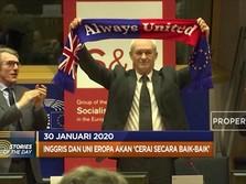 Sayonara Inggris! Resmi, Tak Lagi jadi Anggota Uni Eropa
