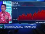 1 Hari Rebound, IHSG Tumbang Lagi