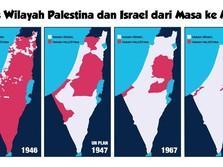 Trump-Israel Bikin Peta Baru untuk Negara Palestina