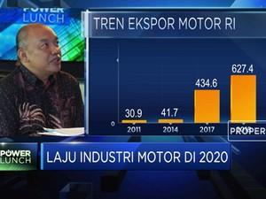 2020, AISI Targetkan Ekspor Motor Indonesia Capai 1 Juta Unit