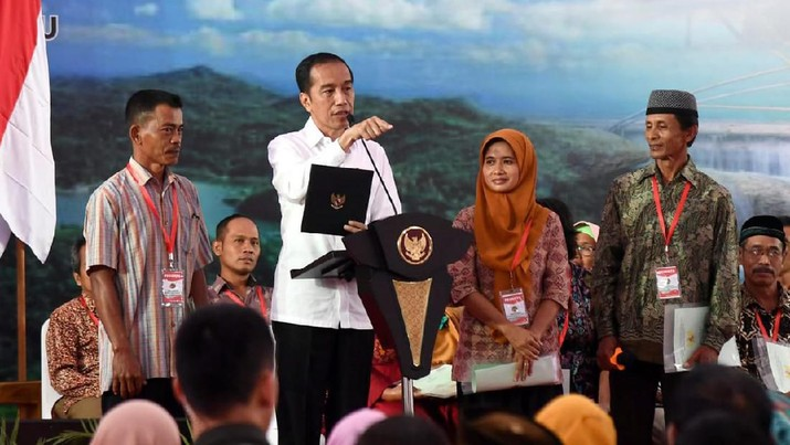 Jokowi: RI Patut Bersyukur Tidak Ada Corona di RI