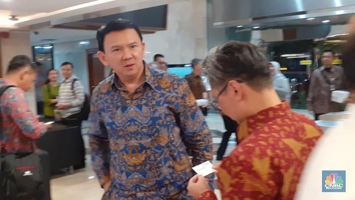 Basuki Tjahaja Purnama (Ahok) (CNBC Indonesia/Anisatul Umah)