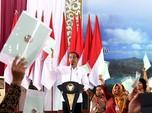 Jokowi: 2025 Seluruh Tanah di RI Harus Sudah Bersertifikat