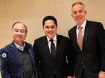 Ketemu Tony Blair & CEO Softbank, Erick Bahas Ibu Kota Baru