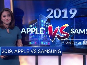 Duel Kinerja Apple VS Samsung pada 2019