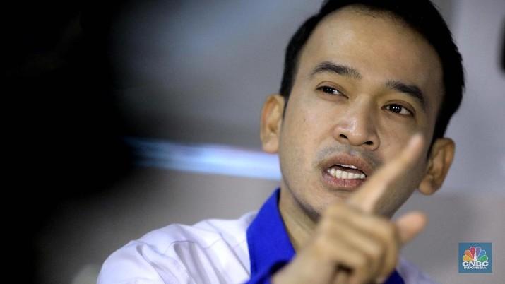 Ruben Onsu. (CNBC Indonesia/Muhammad Sabki)