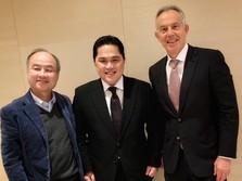 Erick Thohir Temui Tony Blair & Bos Softbank di Jepang
