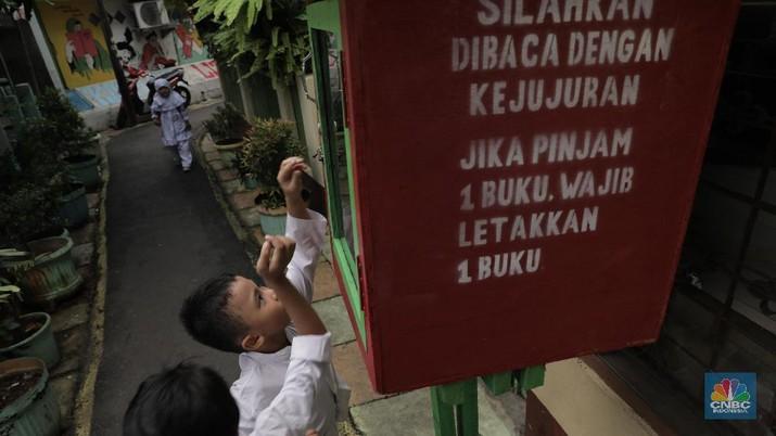 Mengintip Geliat Kampung Literasi di Jatipulo Jakarta Barat