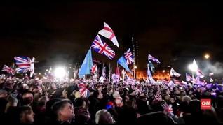 VIDEO: Warga Inggris Rayakan Keberhasilan Brexit