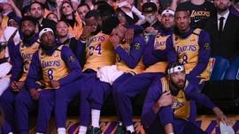 Dua Pemain LA Lakers Positif Corona