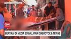 VIDEO: Bertikai di Media Sosial, Pria Dikeroyok & Tewas