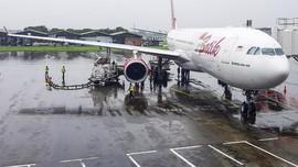 Pesawat Penjemput Ratusan WNI dari Wuhan Tiba di Batam
