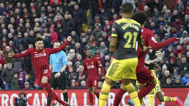 Hasil Liga Inggris: Liverpool Hajar Southampton 4-0