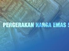 Pergerakan Harga Emas Sepekan (15 - 19 Februari 2021)