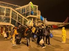 Evakuasi Corona, Akhirnya WNI dari China Tiba di Batam
