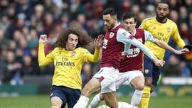 Hasil Liga Inggris: Arsenal Ditahan Imbang Burnley