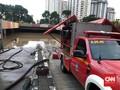 Ketinggian Air di Underpass Kemayoran Masih 1,5 Meter