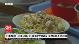 VIDEO: Kuliner Legendaris di Kawasan Cempaka Putih