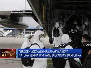 WNI dari Wuhan Ditolak di Natuna, Ini Reaksi Jokowi