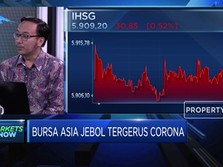 Bursa Asia Jebol Tergerus Corona, IHSG Ikut Memerah