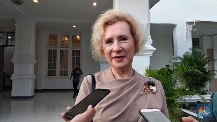 Pesan itu disampaikan Duta Besar Rusia untuk Indonesia Lyudmila Vorobieva di Galeri Nasional Indonesia, Jakarta Pusat, Senin (3/2/2020).